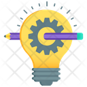 Creative Writing Idea Development Idea Generation Icon