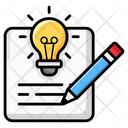 Creative Writing Innovative Blog Content Writing Icon