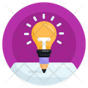 Writing Idea Creative Writing Innovative Writing Icon