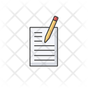 Write Paper Pencil Icon