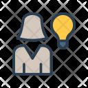 Creativity User Idea Icon