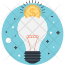 Idea Dollar Creativity Icon