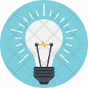 Creativity Bulb Idea Icon