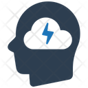 Brainstorm Brainstorming Cloud Idea Icon