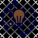 Initiatives Creative Idea Icon