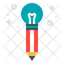 Creativity Pencil Idea Icon