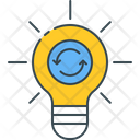 Creativity Exchange Ideas Icon
