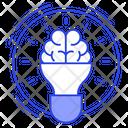 Intelligence Innovation Imagination Icon