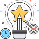 Creativity Creation Bulb Icon