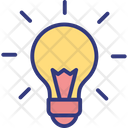 Idea Inspiration Light Bulb Icon