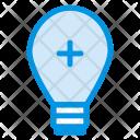 Creativity Bulb Add Icon