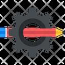Creativity Setting Gear Icon