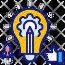 Creativity Idea Project Icon