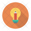 Creativity Idea Bulb Icon