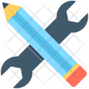 Creativity Customize Pencil Icon