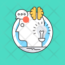 Creativity Mind Head Icon