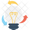 Bulb Process Creativity Icon