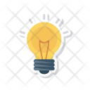 Creativity Idea Lamp Icon