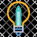 Creativity Idea Bulb Icon