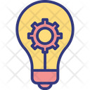 Creativity processing Icon