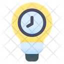 Idea Time Thinking Time Time Duration Icon