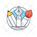 Creativity Tools Pencil Icon