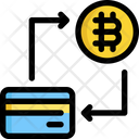Credit Bitcoin Cryptocurrency Icon
