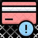 Credit Card Error Icon