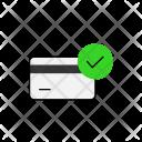 Credit Card Comfirm Icon