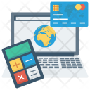 Credit Computer Payment Icon