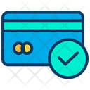 Approved Credit Card Approved Card Checked Card Icon