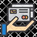 Credit Card Handover Card Cash Icon