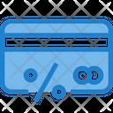 Discount Credit Card Debit Card Icon