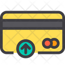 Up Credit Card Debit Card Icon