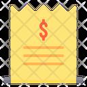 Bills Credit Card Credit Card Bill Icon