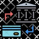 Credit Card Bank Exchange Icon