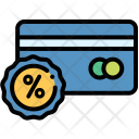 Credit Discount Card Icon
