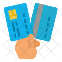 Credit Card Hand Icon