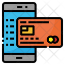 Credit Card Mobile Icon