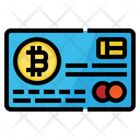 Credit Card Bitcoin Icon