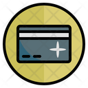 Credit Card Commercial Cashless Icon