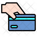 Credit Card Business Hand Icon