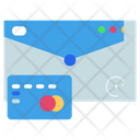 Credit Card Mail Invoice Icon