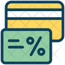 Credit Card Discount Credit Icon