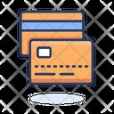 Credit Card Debit Card Shopping Card Icon