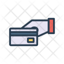 Credit Card Swipe Payment Icon