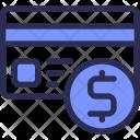 Creditcard Dollar Money Icon