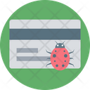 Credit Card Protection Bug Credit Card Icon