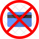 Credit Card Ban Icon