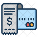 Credit Card Invoice Money Icon